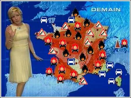 Rellen in Frankrijk