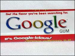 Google gum - get the flavor you've been searching for