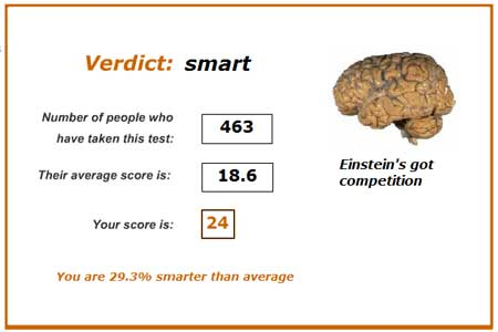 Smart or stupid