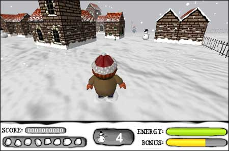 Snowfight 3D -  Click to play