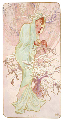 Mucha Alphonse - Winter